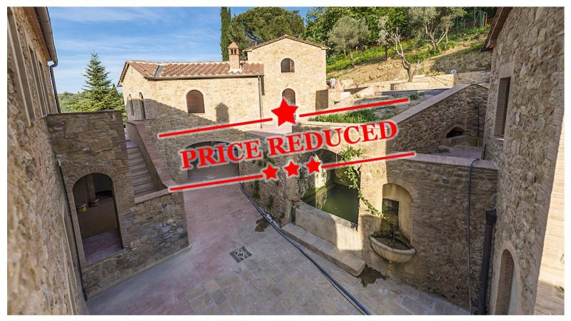 2 Bedroom Apartment for sale in Volterra Tuscany Italy Price Reduced