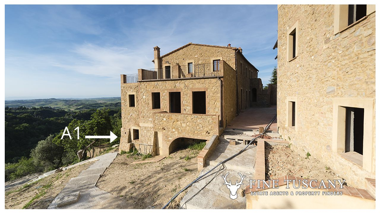 2 Bedroom Apartment For Sale In Volterra Tuscany Italy