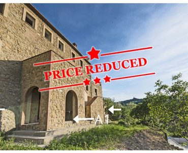 Apartment for sale in Volterra Tuscany Italy Price Reduced