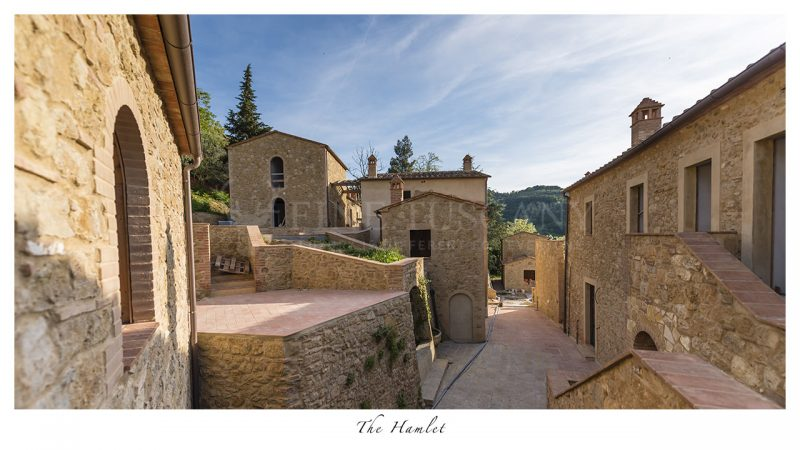 Apartment for sale near Volterra Tuscany Italy