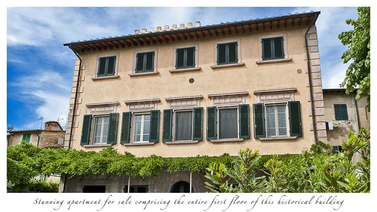 apartment 3 bedroom.  Luxury 3 bedroom apartment for sale in Palaia Tuscany Italy Bedroom