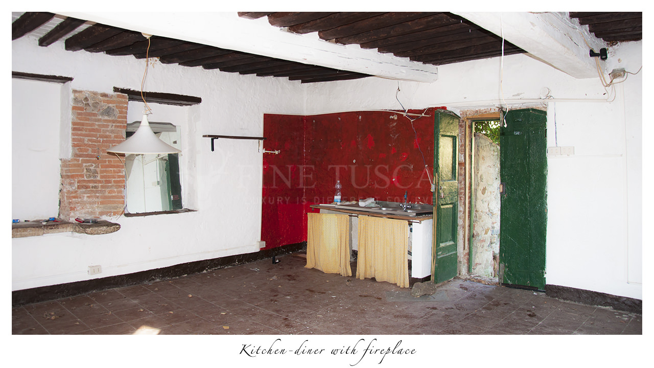 Rustic Country House With Olive Grove For Sale In Calci