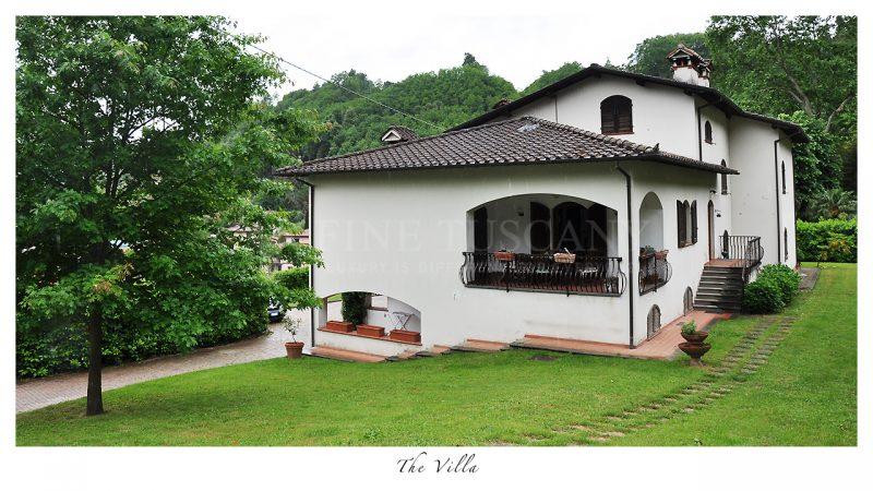 villa for sale in bagni di lucca