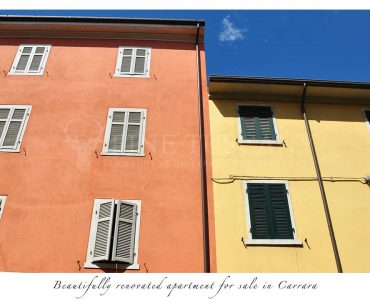 Apartment for sale in Carrara Tuscany Italy - The Building
