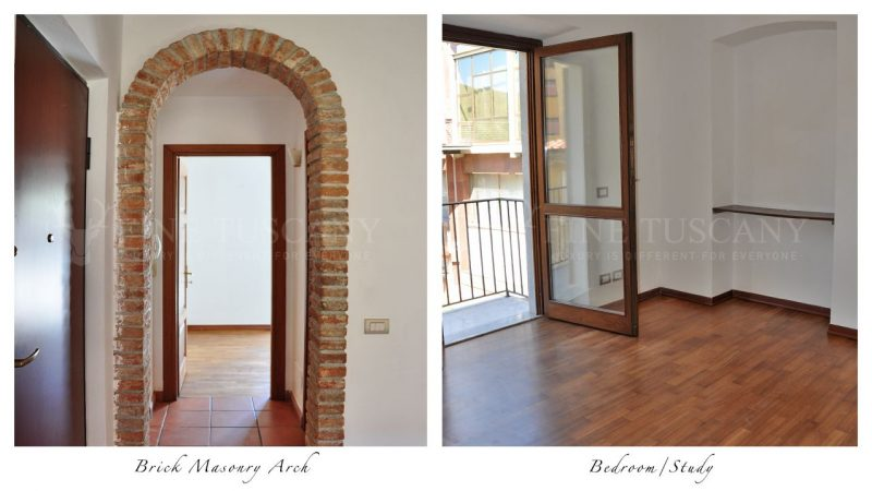 Apartment for sale in Carrara Tuscany Italy - Bedroom/Study
