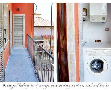 Apartment for sale in Carrara Tuscany Italy - Balcony