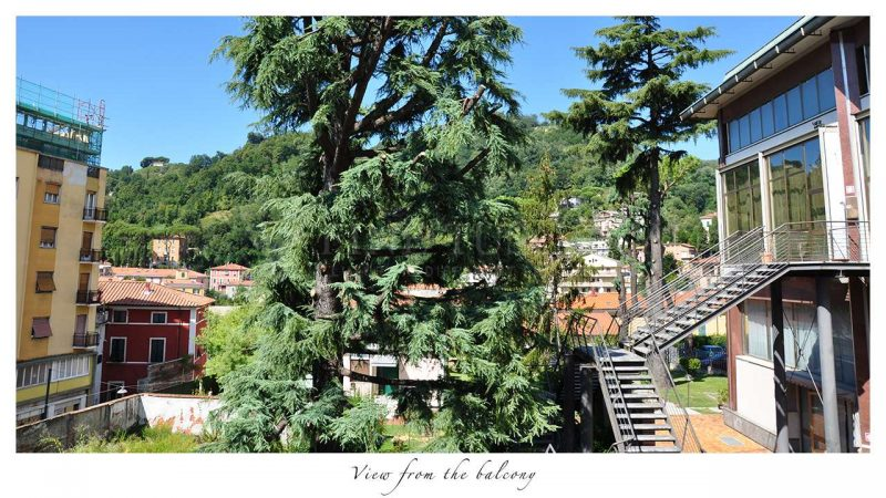 Apartment for sale in Carrara Tuscany Italy - View from balcony