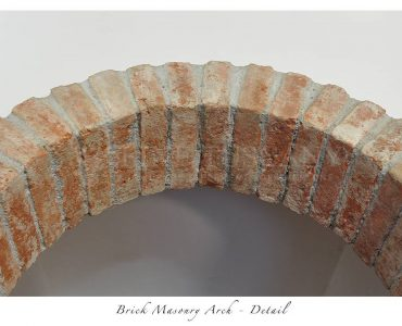 Apartment for sale in Carrara Tuscany Italy - Brick masonry arch