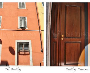 Apartment for sale in Carrara Tuscany Italy - Building Entrance