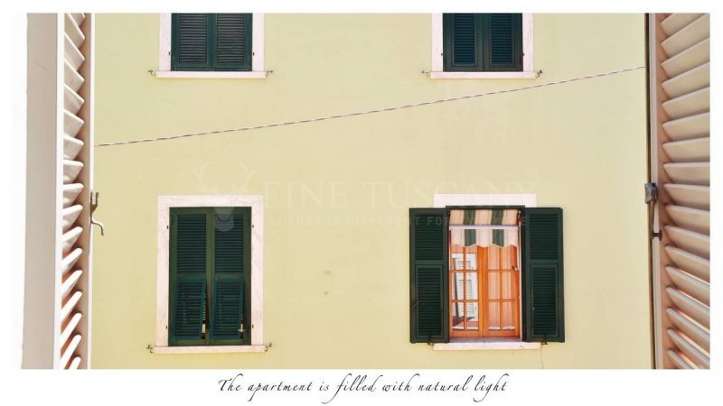 Apartment for sale in Carrara Tuscany Italy - View
