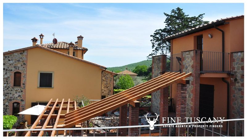 Apartment for sale in Orciatico Lajatico Tuscany Italy
