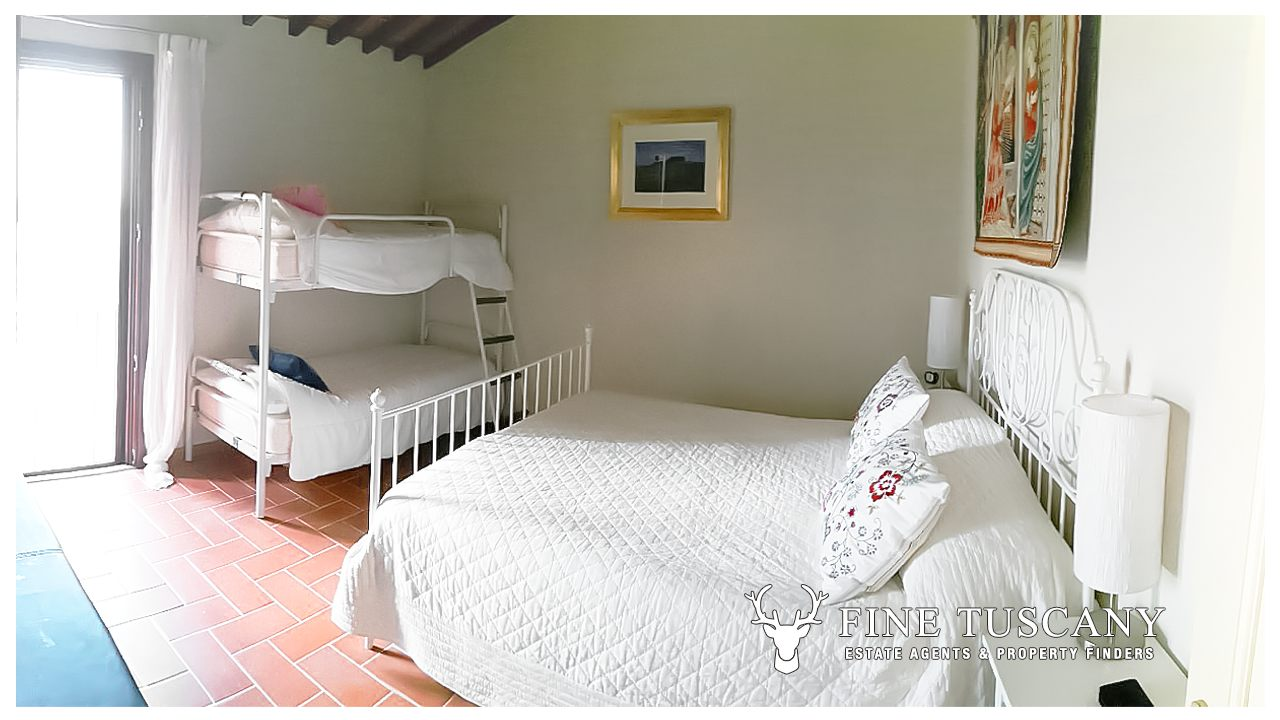 1 Bedroom Apartment For Sale In Orciatico Tuscany Italy