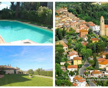 Apartment with swimming pool for sale in Soiana Tuscany Italy