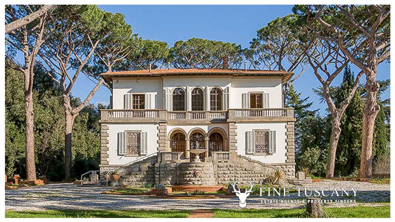 Luxury villa with swimming pool for sale in tuscany italy for Tuscany villas