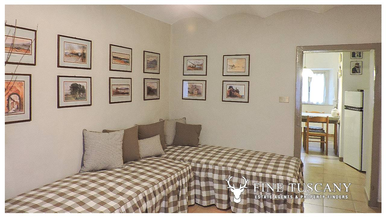 Bargain one bedroom apartment for sale in Tuscany, Italy ...
