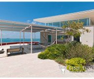 Luxury seafront villa for sale in Antignano Livorno Tuscany Italy