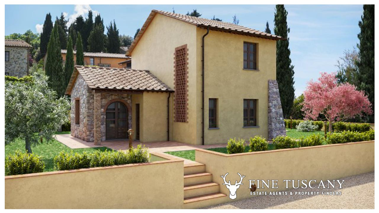 For Sale Detached Villas With Private Pool Tuscany