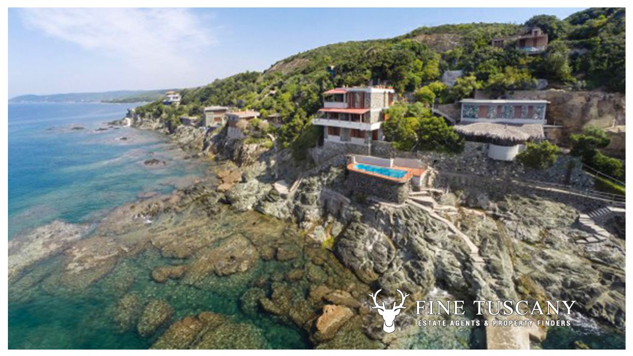 Seafront Property For Sale In Castiglioncello Tuscany