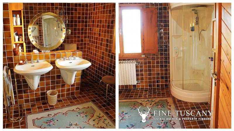Villa for sale in Bientina, Tuscany, Italy - First floor Shower room 2