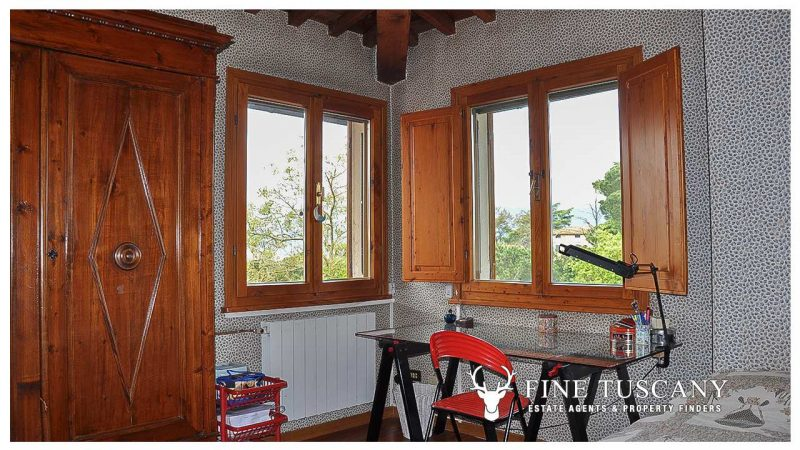 Villa for sale in Bientina, Tuscany, Italy - First floor Single Bedroom 3