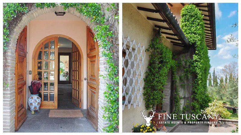 Villa for sale in Bientina, Tuscany, Italy - Front door
