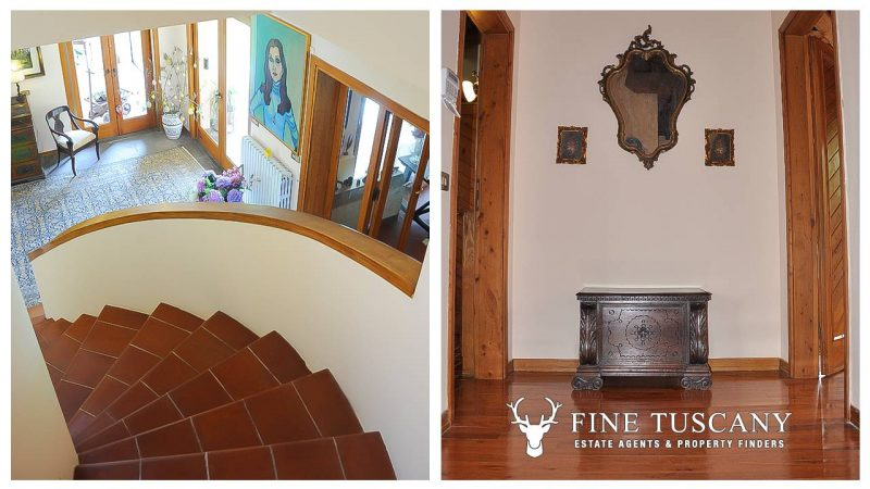 Villa for sale in Bientina, Tuscany, Italy - Stairs and landing