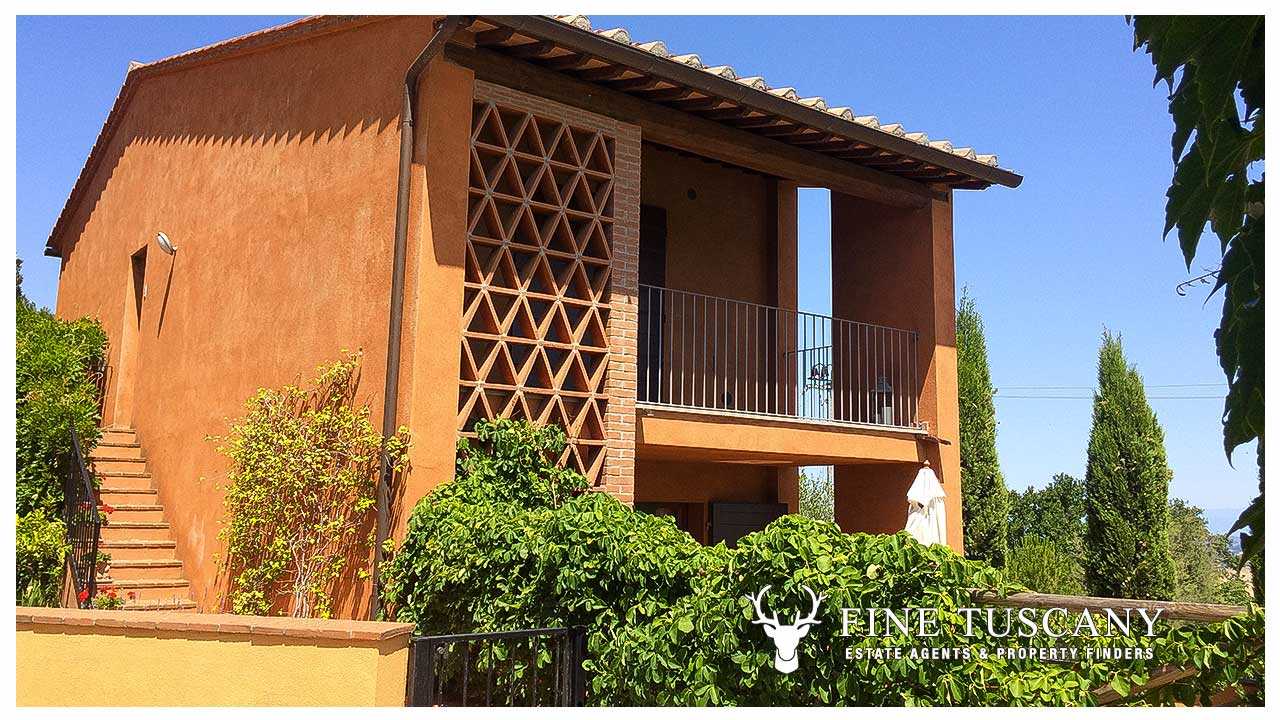 2 Bedroom apartment for sale in Orciatico, Tuscany, Italy ...