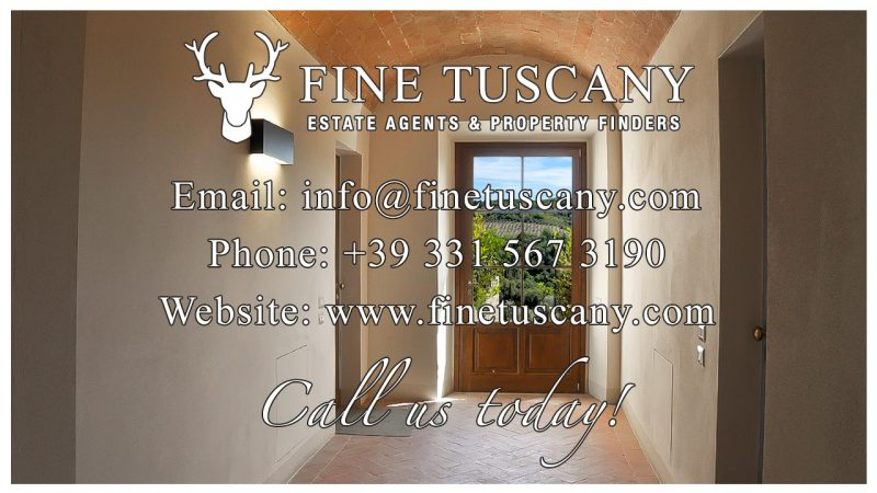Apartment for sale in Castelfalfi, Tuscany, Italy