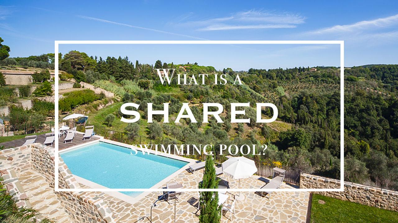 Condominium shared pool