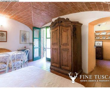 Rustic property for sale in Castagneto Carducci Livorno Tuscany