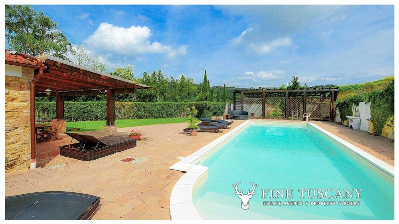 Semi-detached villa for sale in Casciana Terme Pisa Tuscany Italy