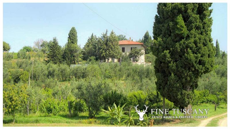 Period villa for sale in Palaia Pisa Tuscany