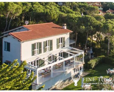 Sea View Villa for sale in Chioma Livorno Tuscany Italy
